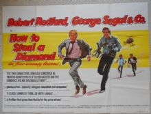 How to Steal a Diamond, Original UK Quad Poster, Robert Redford, George Segal, '72